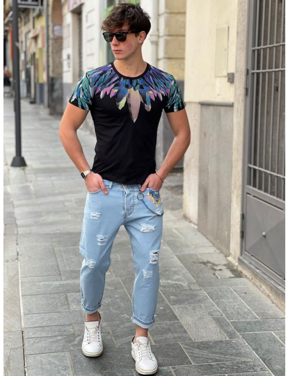 t-shirt aj21 nera